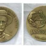 Ávila's medal