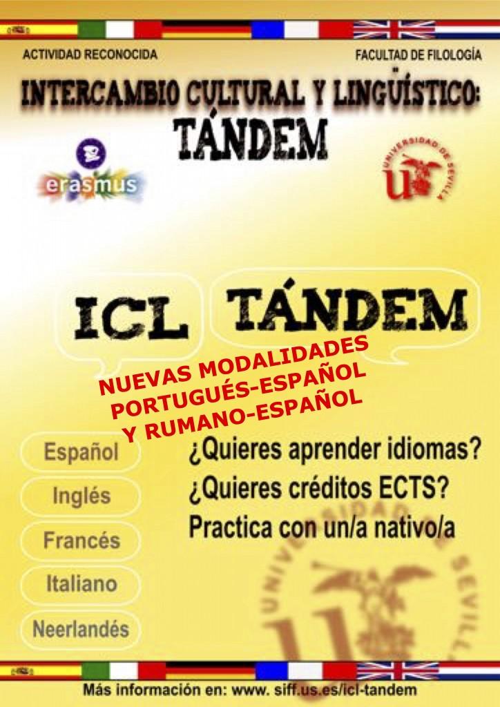 Intercambio Cultural y Lingüístico: Tándem (Actividad Reconocida)
