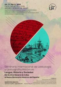 I SEMINARIO INTERNACIONAL DE LEXICOLOGÍA Y LEXICOGRAFÍA HISTÓRICAS