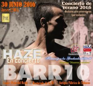 I CONCIERTO DE VERANO 2016 – HAZE BARR10 – 30 DE JUNIO